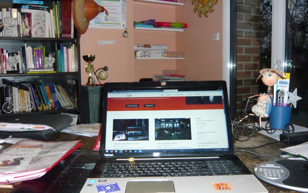 Présentation du site Internet du CoTESS